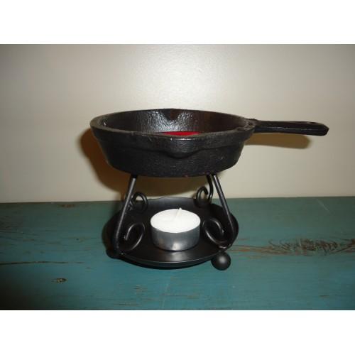 Diffuseur poêle à frire miniature
