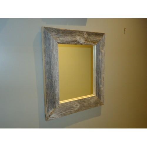 Miroir en bois de grange for Miroir des secrets