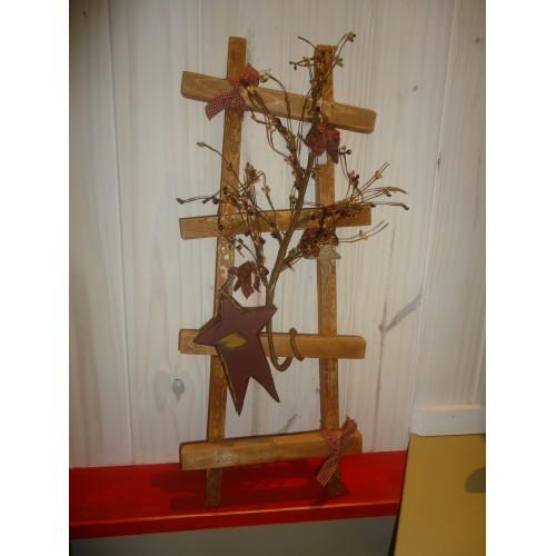Chelle d corative petit format - Echelle decorative en bois ...