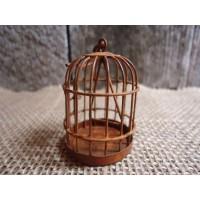 Cage miniature en métal