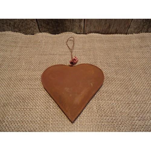 Coeur bombé fait en métal