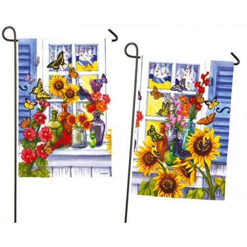 Drapeaux de jardin d coratifs for Jardins decoratifs