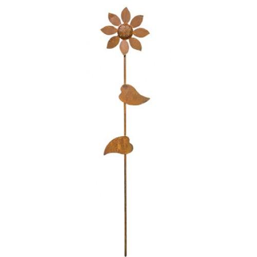 Piquet de jardin fleur for Piquet decoratif jardin