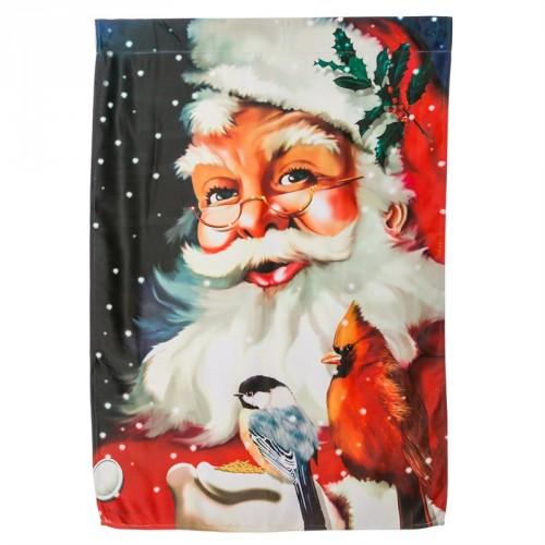Drapeau d'hiver Père-Noël