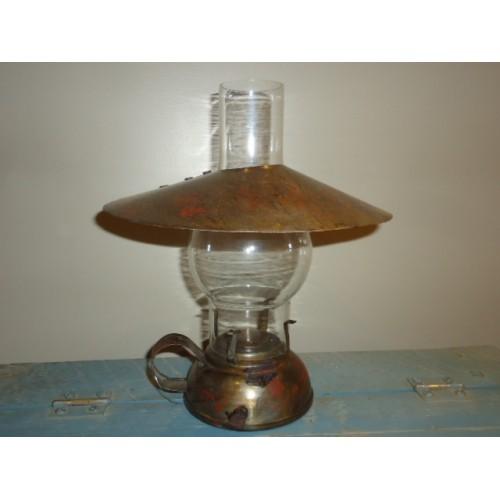 Lanterne fanal antique en métal